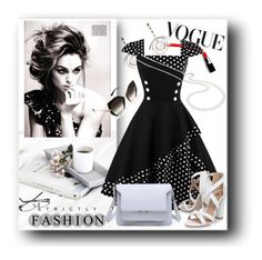 """Rosegal contest - Pin Up Vintage dresses"" by pesanjsp ❤ liked on Polyvore featuring Marni, Nadri, Miss KG, vintage, GetTheLook, girlsnightout, fashionset and MyPowerLook"