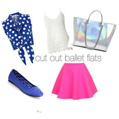 cut out ballet flats by winfreygirl on Polyvore featuring polyvore fashion style Dorothy Perkins UNIF GUESS