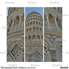 Shop The Leaning Tower of Pisa Triptych created by almawad. Wall Art Sets, Triptych, Photomontage, Pisa, Tower, Italy, The Originals, Architecture, Building