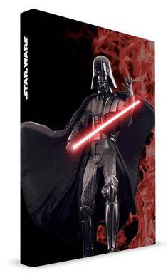 Libreta Darth Vader. Star Wars con luz y sonido  Estupenda libreta con la imagen del malvado Darth Vader basado en la estupenda saga Star wars.