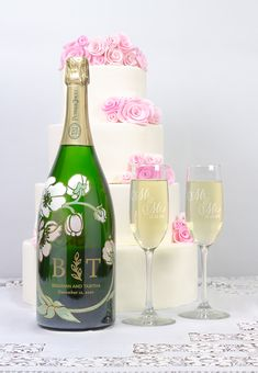 a magnum custom wine bottle for your special day!