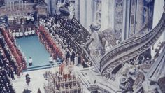 The Funeral of Pope Pius XII