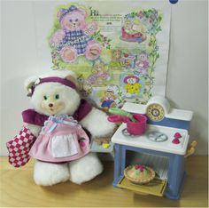 Briarberry bears Baking Stove Set! I remember you!