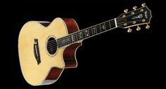 Taylor DMSM Signatures Series - Indian Rosewood body with a Sitka Spruce top.