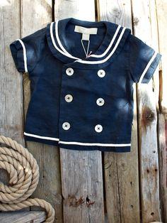Sailor linen shirt
