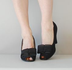 1940s shoes | 40s BIG TIME heels