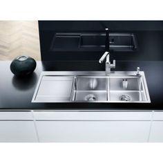 Kitchen appliances Fregadero para la cocina sobreencimera Fregadero blancodivon acero inox