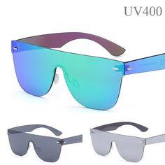 cba3e5ebb1e7 ICYMI: Sunglasses UV400 Designers Travel Driving Mirror Glasses Sport Shade  Men Women Steampunk Sunglasses,