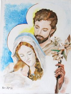 the holy family by ~Kevo2u on deviantART