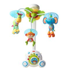 Tiny Love mobile...get this one and put the one Jack has had in his crib in the baby's and give Jack this one...
