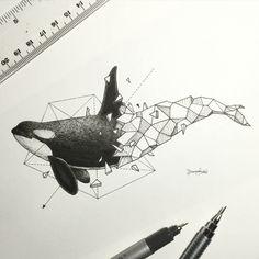 ideas para tatuajes con formas geométricas