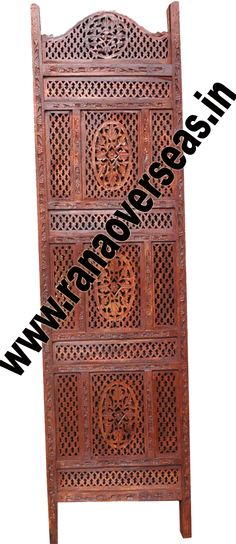 Wooden Partition Screen Rana Overseas is the Manufacturer & Exporter of Wooden Partition Screen, Room dividers are often used in commercial offices or homes to seperate rooms or to block light. Wooden room divider screens are very popular.Deciding on the right wood folding screen is simply a matter of personal taste. For those that appreciate unique style folding screens,our hand carving abstract dividers may be a consideration. Developed from high quality