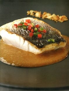 Green Weakfish with Pirao