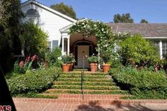 Jodie Foster put her Beverly Hills home on the market. Sitting on just under an acre of land, the house has seven bedrooms and eight bathrooms. The cost? $9.975 million. The home was built in 1949, but from what we see, it has held up just fine