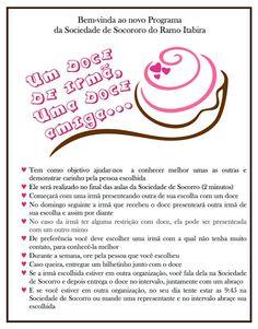 As Tontas Vão Ao Céu: Atividade - Um Doce de Irmã, Um Doce e Amiga! (Ram...