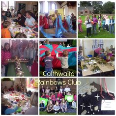 Calthwaite Rainbows Club - monthly Saturday morning primary age club