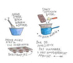 Kookboekenmaker, en kok illustrator Yvette van Boven maakt elke week een gerecht in de oven.