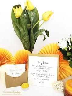 Invitación Nautical Yellow