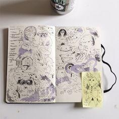 Fabulous Drawing On Creativity Ideas. Captivating Drawing On Creativity Ideas. Sketchbook Layout, Arte Sketchbook, Sketchbook Pages, Sketchbook Inspiration, Sketchbook Designer, Sketchbook Ideas, Pretty Art, Cute Art, Art Sketches