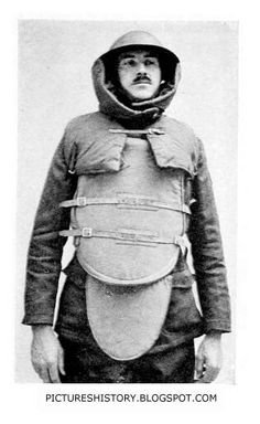 First World War: Body Armor and Gas Attacks World War One, Second World, First World, Late Modern Period, Military Costumes, Rare Images, Rare Photos, Shell Shock, Total War