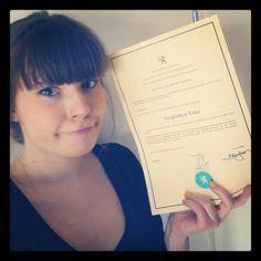 Diploma Visagie is binnen!