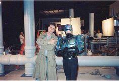 Frank Miller y Peter Weller/Robocop 2