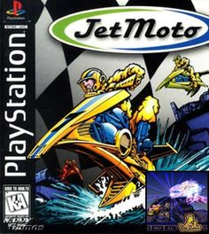 Jet Moto on PlayStation flipped racing games on their head. I want a wicked fast hover bike! Old School Gamer's World remembers old school video games. Playstation 2, Ever After High Games, Nintendo, Pc Engine, Video Game Industry, School Games, Game Sales, Old Games, Greatest Hits