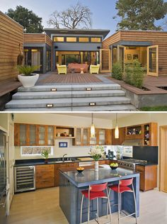 kaufmann-breezehouse Exterior Design, Interior And Exterior, Exotic Homes, Container Architecture, Shipping Container Homes, Modular Homes, Kit Homes, Art Of Living, Breeze