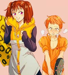 from the story 💛~Parejas De Nanatsu No Taizai~💛 by (𝓂𝑒𝓃𝒹𝑒𝓈) with reads. Anime Shojo, Otaku Anime, Manga Anime, Anime Seven Deadly Sins, 7 Deadly Sins, Ban E Elaine, Seven Deady Sins, 7 Sins, Happy Tree Friends