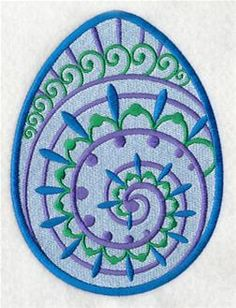 Machine Embroidery Designs at Embroidery Library! - Easter Eggs