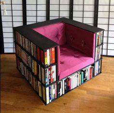 Book chair! Love it!