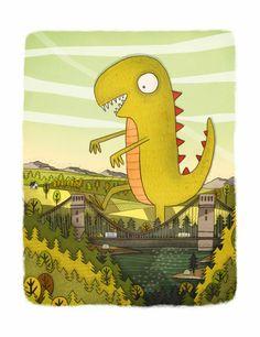 Brendan Kearney - Illustration and design: Green Dinosaur
