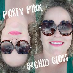 Party Pink LipSense with Orchid Gloss