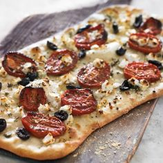 Flatbread with Feta, Thyme and Oven-Roasted Tomatoes | Williams Sonoma