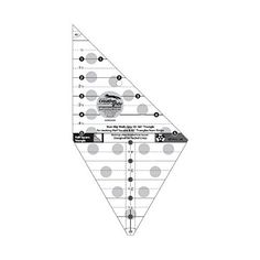 Creative Grids Quilting Ruler Multi-Size 45 Degree / 90