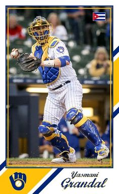 Milwaukee Brewers, Baseball Cards, Sports, Hs Sports, Excercise, Sport, Exercise