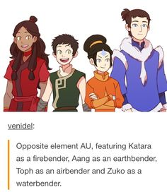*Heavy breathing* Where Zuko grew up as Ursa's son without Ozai being an abusive crap ball?!?! YHAS