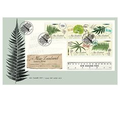 New Zealand Native Ferns | New Zealand Post Stamps