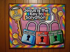 Jesus is the key to Salvation Bulletin Board