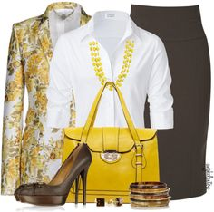 """""""Floral Blazer Contest"""" by angkclaxton on Polyvore"""