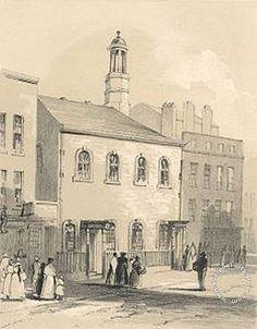 """St Stephens, Byrom Street, Liverpool"", 1843"
