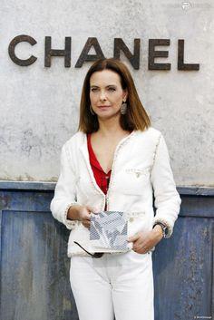 carole bouquet lors du photocall du dfil de mode haute couture automne hiver 2013 - Carole Bouquet Mariage 1991