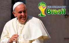 [VIDEO] Mundial FIFA Brasil 2014: Papa Francisco alienta a que torneo ayude al encuentro entre pueblos
