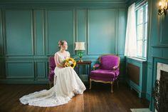 The lovely bride at The Dresser Mansion in Tulsa, OK Richard ♥ Ruby | Tulsa Wedding Photography http://www.blueelephantphotography.com/blog/2014/09/30/richard-ruby-tulsa-wedding-photography-2/