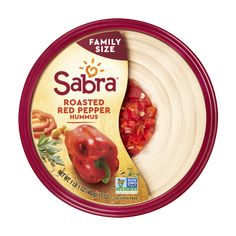 Classic Hummus - Hummus & Guacamole Dips & Spreads from Sabra Guacamole Recipe, Hummus Recipe, Sin Gluten, Red Pepper Hummus, Grocery Deals, Roasted Red Peppers, Vegan Dishes, At Least, Yummy Food