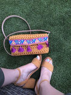 Bolso Franse a crochet de Missaquitos Espadrilles, Sandals, Shoes, Fashion, Espadrilles Outfit, Moda, Shoes Sandals, Zapatos, Shoes Outlet
