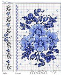 Gallery.ru / Фото #51 - цветы. схема на 1 лист - irinika
