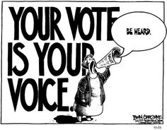 VOTE! How else will your voice be heard?