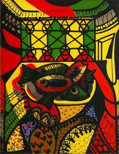 Amelia Peláez Del Casal. Fishes (1943)