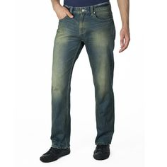 Alex Straight Leg Jeans Green